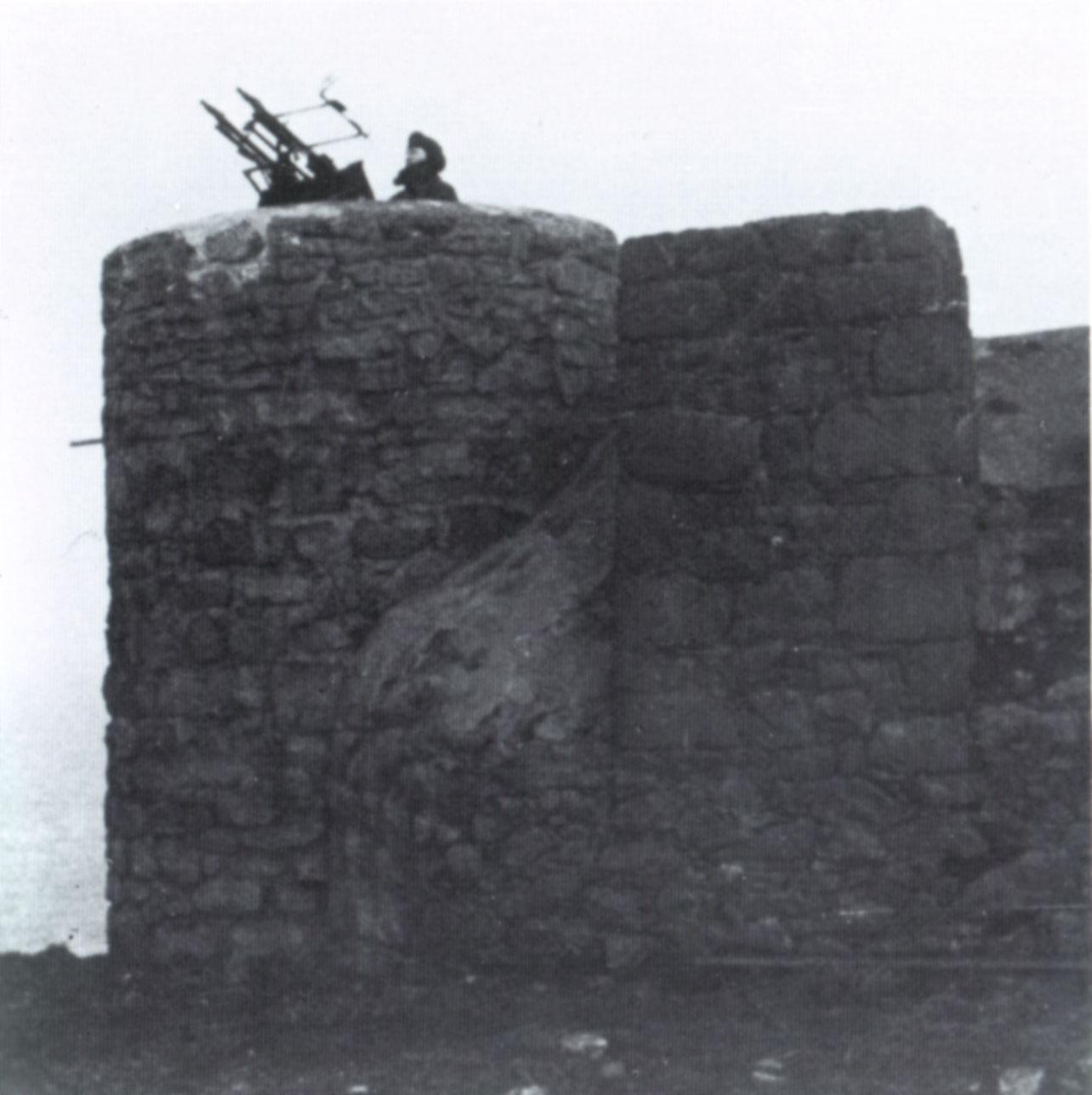 Before-Anti Aircraft Gun, Plemont Bay