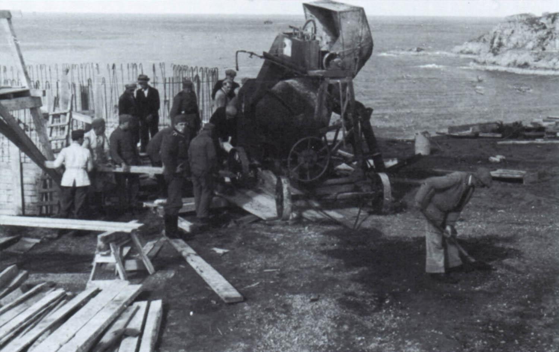 Before-Bunker Construction , Noirmont Point