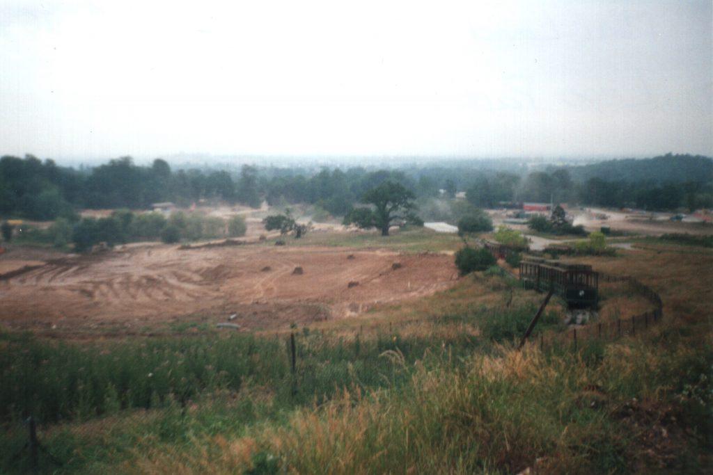 Miniland earthworks